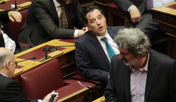 Άγριος καβγάς Πολάκη - Γεωργιάδη στη Βουλή