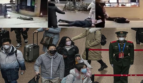 Κοροναϊός: Aνθρωποι καταρρέουν στους δρόμους στην Κίνα - Σοκάρουν οι εικόνες