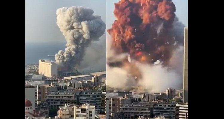 Ισχυρή έκρηξη στο λιμάνι της Βηρυτού - Αναφορές για τουλάχιστον 10 νεκρούς